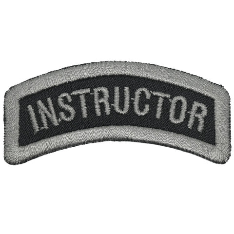 INSTRUCTOR TAB 6CM - BLACK FOLIAGE