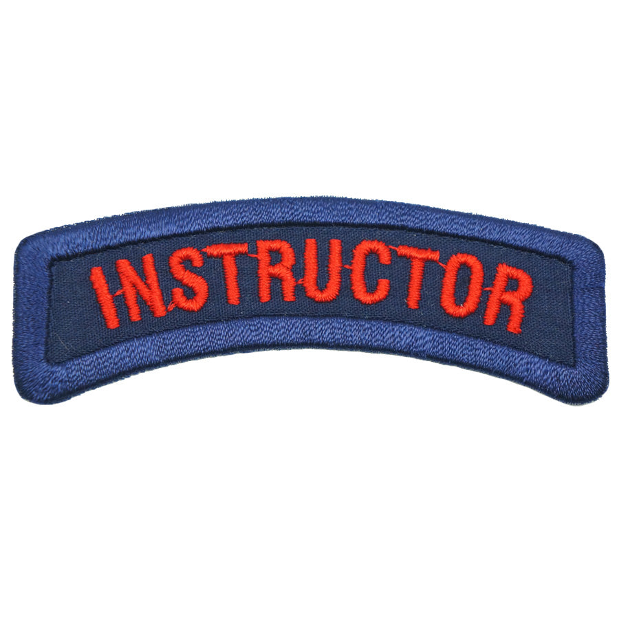 INSTRUCTOR TAB - ROYAL BLUE RED