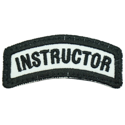 INSTRUCTOR TAB 6CM - WHITE BLACK