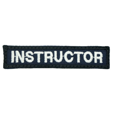 INSTRUCTOR TAG 7CM - NAVY WHITE