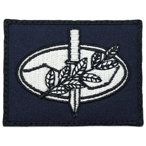 JUNGLE CONFIDENCE COURSE BADGE - NAVY WHITE