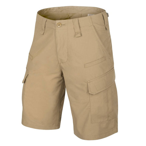 HELIKON-TEX CPU® SHORTS - COTTON RIPSTOP - KHAKI