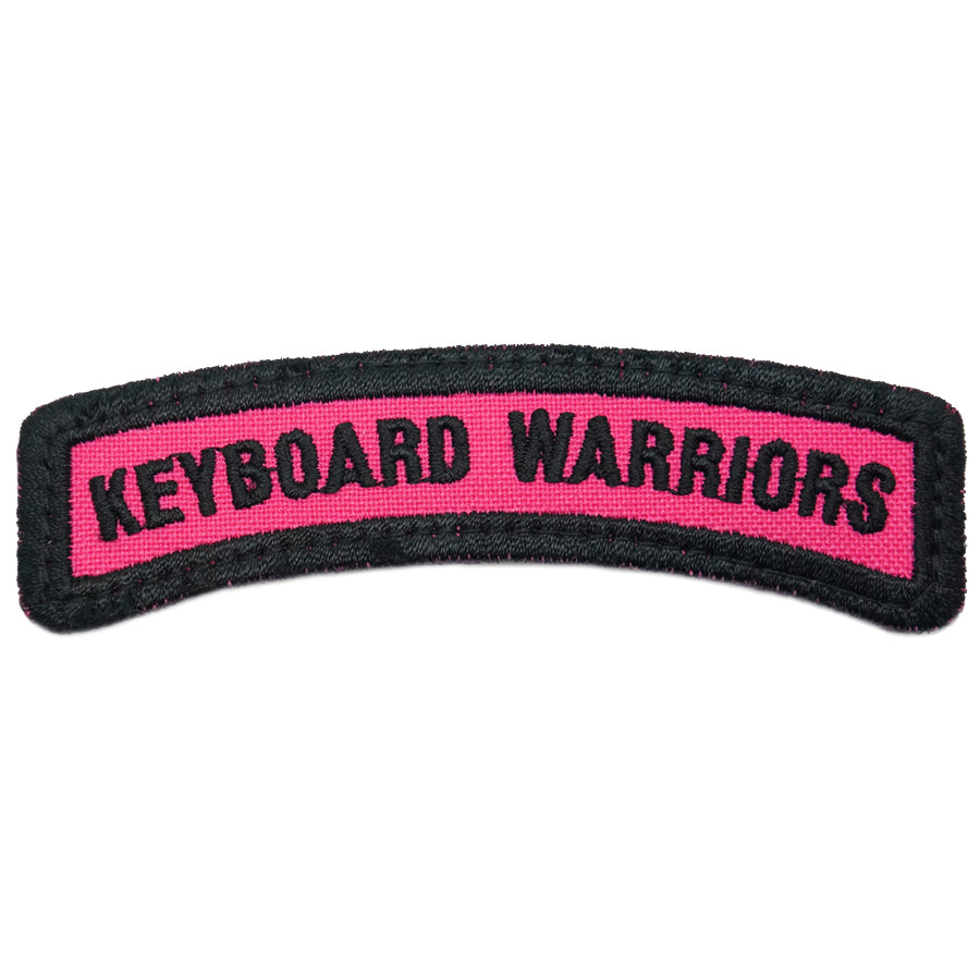 KEYBOARD WARRIORS TAB - BLACK PINK