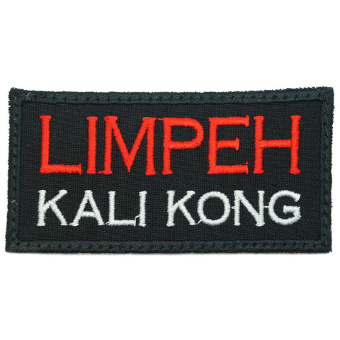 LIMPEH KALI KONG PATCH - BLACK