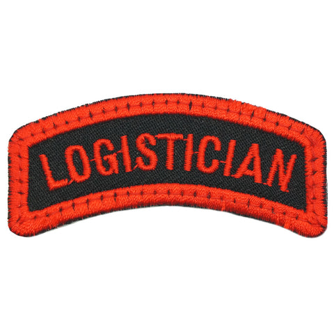 LOGISTICIAN TAB - BLACK RED