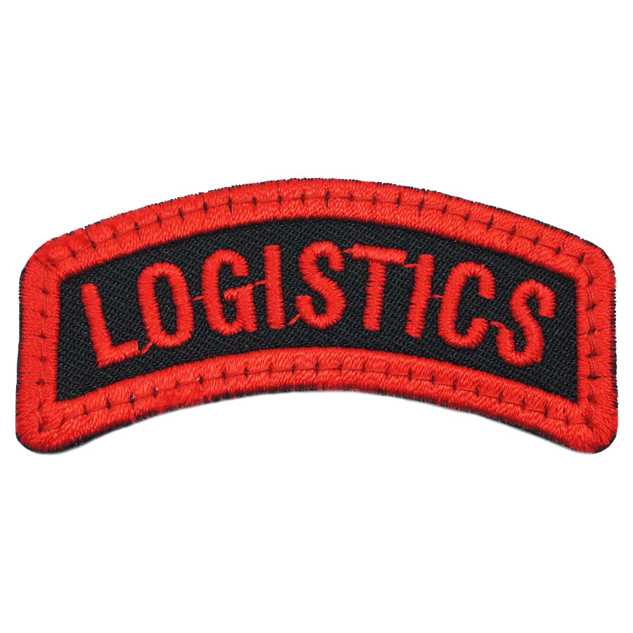 LOGISTICS TAB - BLACK RED