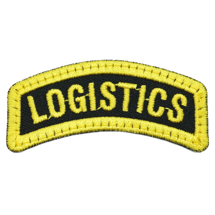 LOGISTICS TAB - BLACK YELLOW