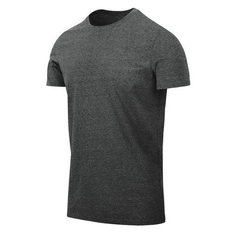 HELIKON-TEX T-SHIRT (SLIM) - MELANGE BLACK/GREY