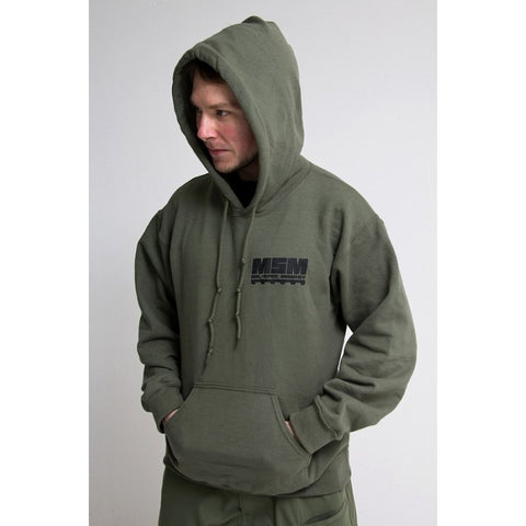 MSM LOGO PULLOVER - OD GREEN - Hock Gift Shop | Army Online Store in Singapore