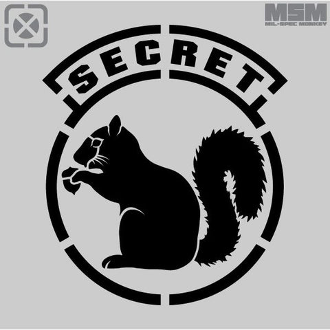 MSM SECRET SQIRREL STENCIL - Hock Gift Shop | Army Online Store in Singapore