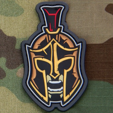 MSM SPARTAN WARRIOR HEAD 1 MORALE PATCH - FULL COLOR
