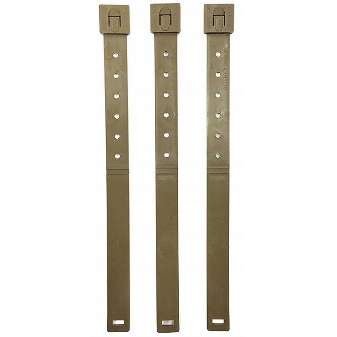 "MSM TACTICAL TAILOR 5"" MALICE CLIP, LONG (PACK OF 4) - COYOTE BROWN"