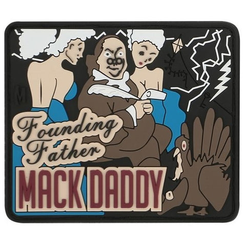 MAXPEDITION BEN FRANKLIN MACK PATCH - FULL COLOR - Hock Gift Shop | Army Online Store in Singapore