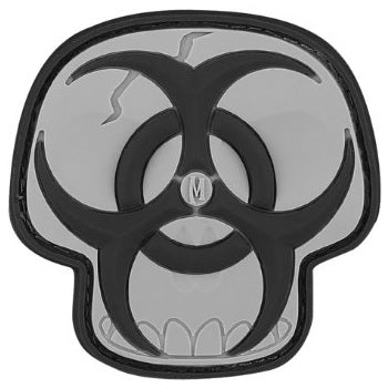 MAXPEDITION BIOHAZARD SKULL PATCH - SWAT - Hock Gift Shop | Army Online Store in Singapore