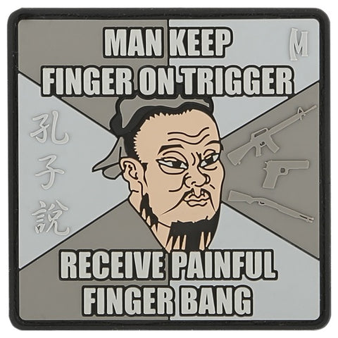 MAXPEDITION FINGER BANG PATCH - SWAT