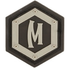 MAXPEDITION HEX LOGO PATCH - ARID
