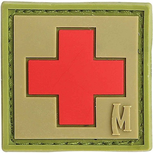 "MAXPEDITION MEDIC PATCH 1"" X 1"" - ARID"