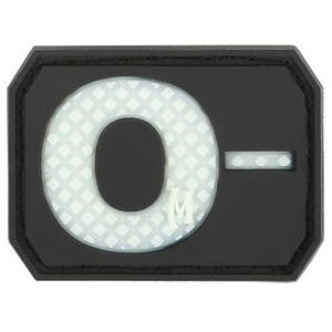 MAXPEDITION O- NEG BLOOD TYPE PATCH - GLOW