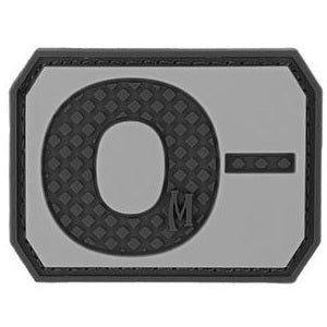 MAXPEDITION O- NEG BLOOD TYPE PATCH - SWAT