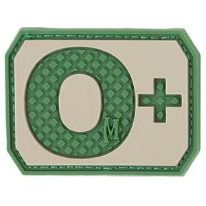 MAXPEDITION O+ POS BLOOD TYPE PATCH - ARID