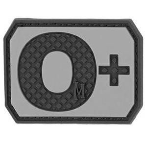 MAXPEDITION O+ POS BLOOD TYPE PATCH - SWAT
