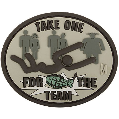 MAXPEDITION TAKE ONE FOR THE TEAM PATCH - ARID - Hock Gift Shop | Army Online Store in Singapore