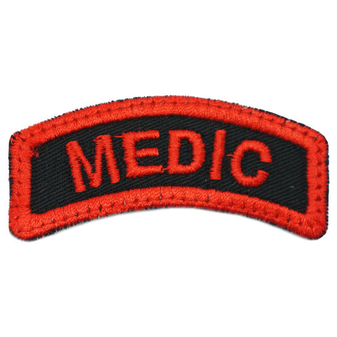 MEDIC TAB - BLACK RED