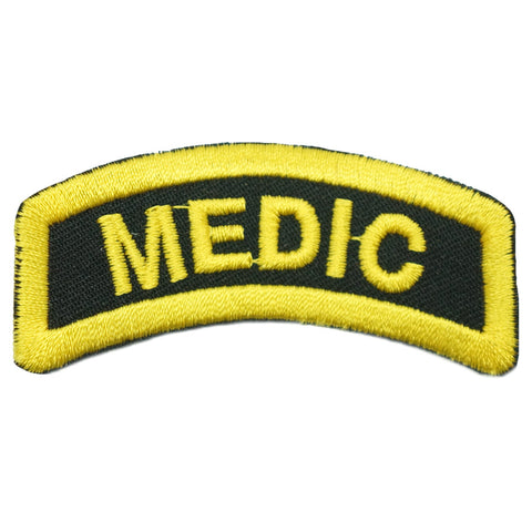 MEDIC TAB - BLACK YELLOW