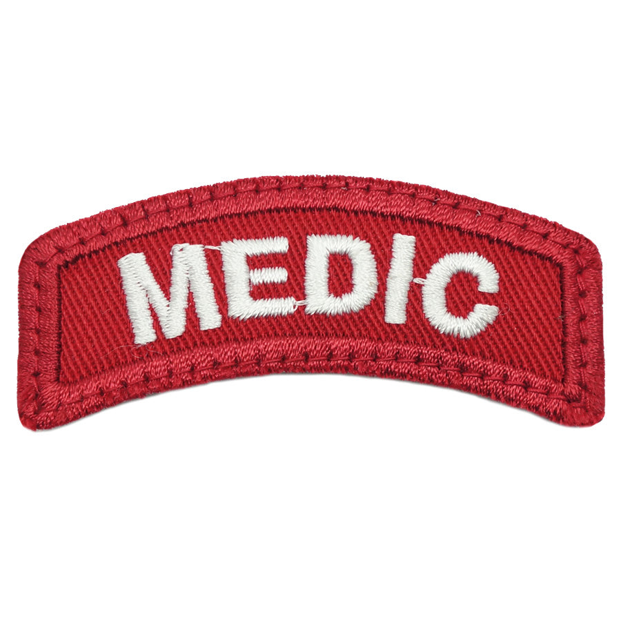 MEDIC TAB - RED WHITE