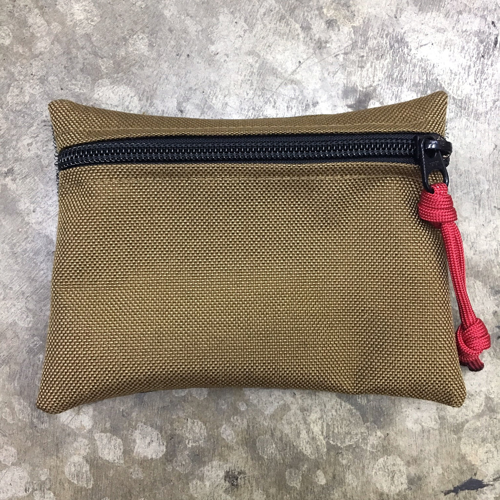 MIL-SPEC MINI EDC POUCH - HOOK SIDE VELCRO (COYOTE)