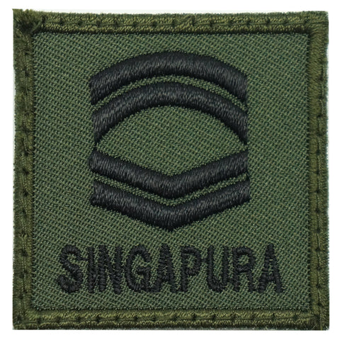 MINI SAF RANK PATCH - CFC (OD GREEN)