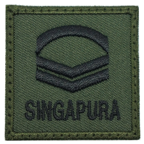 MINI SAF RANK PATCH - CPL (OD GREEN)