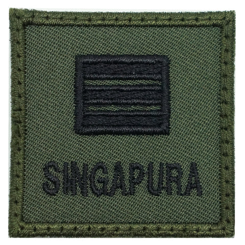 MINI SAF RANK PATCH - CPT (OD GREEN)