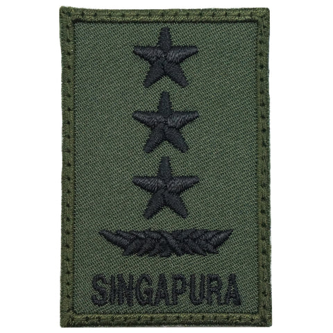 MINI SAF RANK PATCH - LG (OD GREEN)