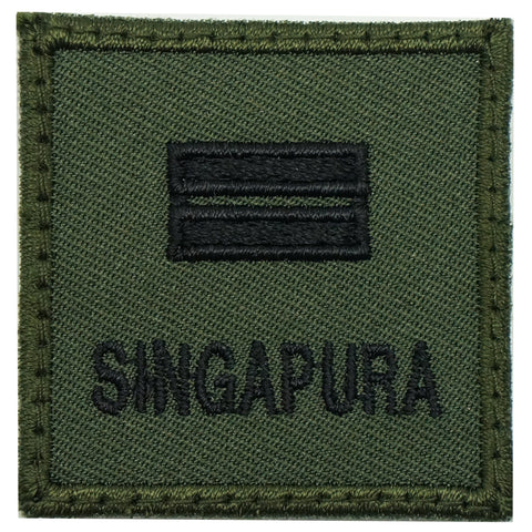 MINI SAF RANK PATCH - LTA (OD GREEN)