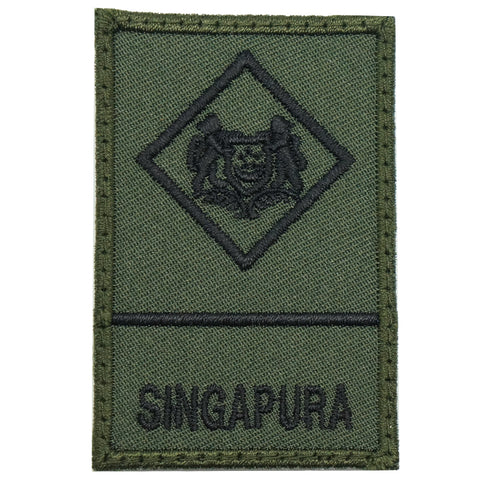 MINI SAF RANK PATCH - ME1 (OD GREEN)