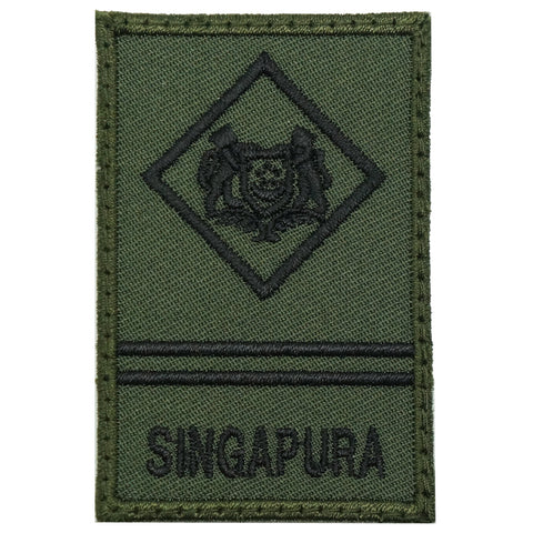 MINI SAF RANK PATCH - ME2 (OD GREEN)