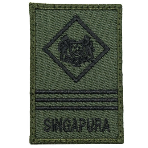 MINI SAF RANK PATCH - ME3 (OD GREEN)