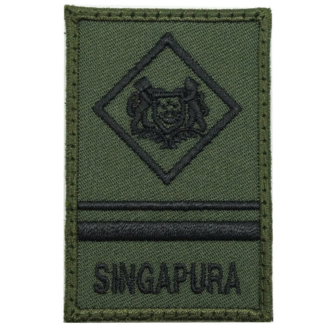 MINI SAF RANK PATCH - ME4 (OD GREEN)