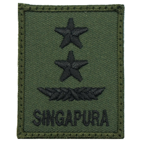 MINI SAF RANK PATCH - MG (OD GREEN)