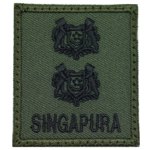 MINI SAF RANK PATCH - LTC (OD GREEN)
