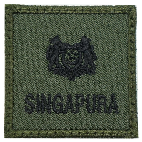 MINI SAF RANK PATCH - MAJ (OD GREEN)