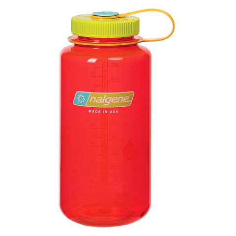 NALGENE WIDE MOUTH 1000 ML - POMEGRANATE