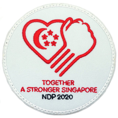 NDP 2020 PATCH - TOGETHER A STRONGER SINGAPORE