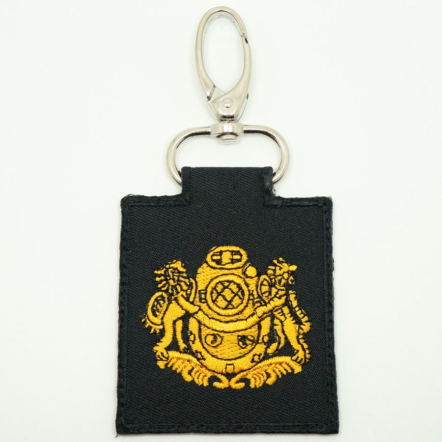 NDU UNIT LOGO KEYCHAIN - BLACK