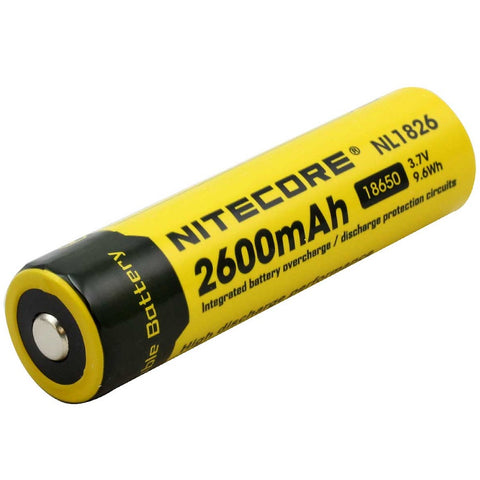 NITECORE BATTERY NL1826 - 2600 mAh