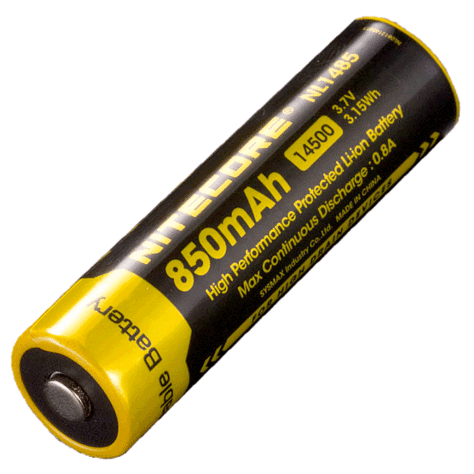 NITECORE NL1485 BATTERY (14500 - 850mAh)