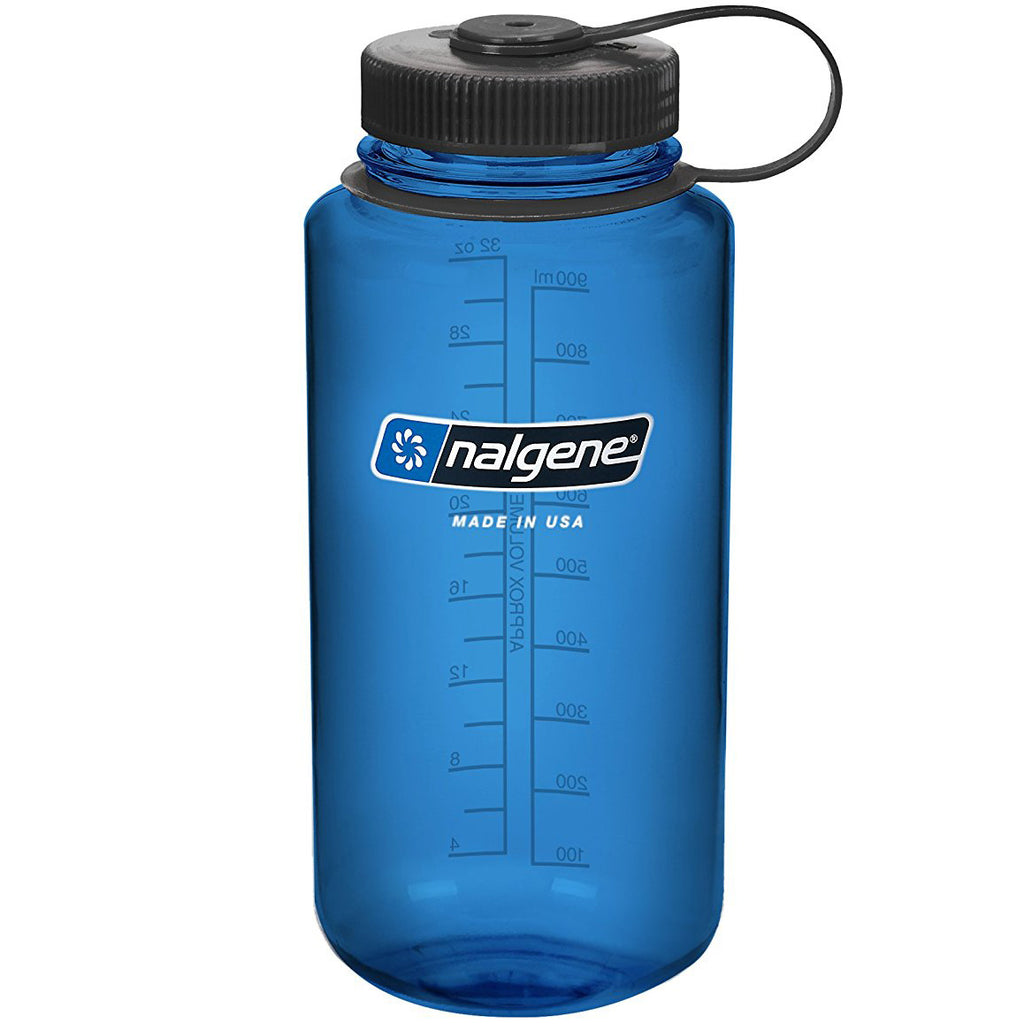 NALGENE WIDE MOUTH 1000 ML - BLUE