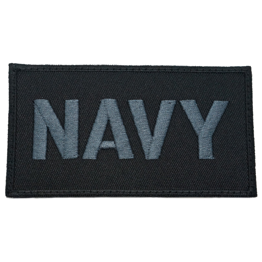 NAVY CALL SIGN PATCH - BLACK OPS