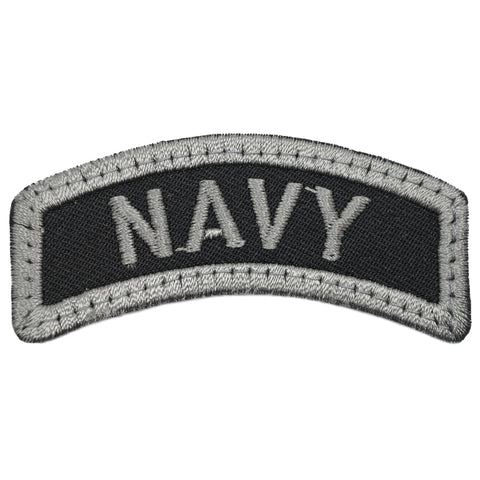 NAVY TAB - BLACK FOLIAGE